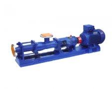 G型螺杆泵(污泥泵)